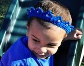 Crochet Pattern PDF - Crown / Tiara - Crown Prince Tiara Princess - Newborn to Adult Sizes - Bridal Accessory - Photo Prop