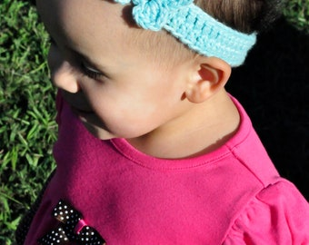 Crochet Pattern PDF - Headband / Bracelet - Butterfly - Newborn to Adult Sizes
