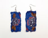 Magically Mini Chips Ahoy Cookie Bag Dangle Earrings