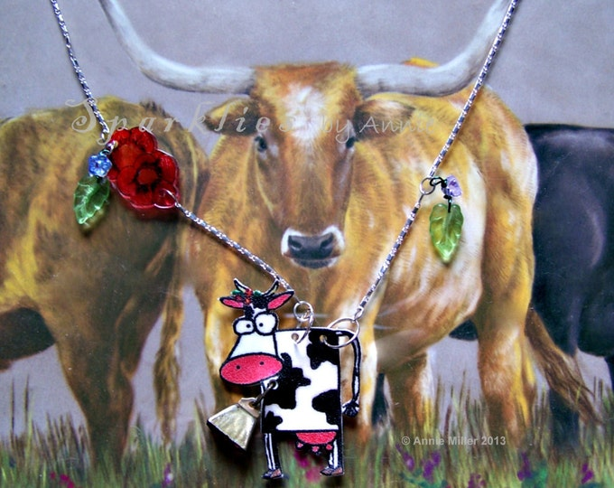More Cow Belle Necklace