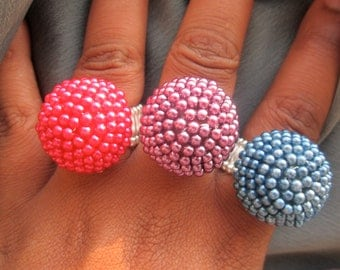 Colorful Statement Ring