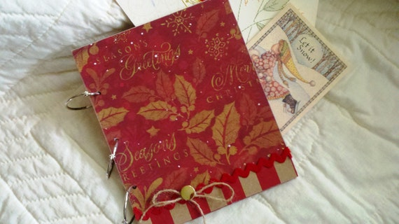 Store and View Your Christmas Cards in This Christmas Greeting Card Holder/Album