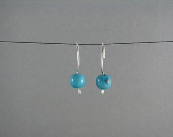 ECO FRIENDLY Acai Earrings blue recycled jewelry