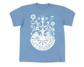 SALE: Lithuanian Myth Blue Tshirt for Kids / Children / Boys / Boy / Unisex / Girls / Girl