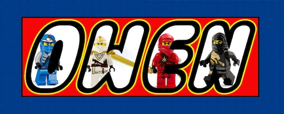 LEGO Personalized Poster
