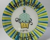 Custom Birthday Plate for Jenn