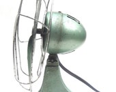 Art Deco Style Fan - Mint Green