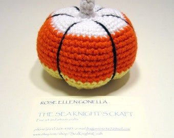 Amigurumi Candy Corn Pumpkin
