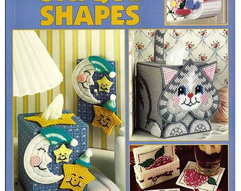 Doorstops & Bookends For Plastic Canvas Pattern Book Leisure Arts 285