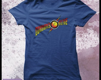 Flash Gordon tshirt womens - Gordon's alive