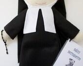 Saint Bernadette Felt Doll