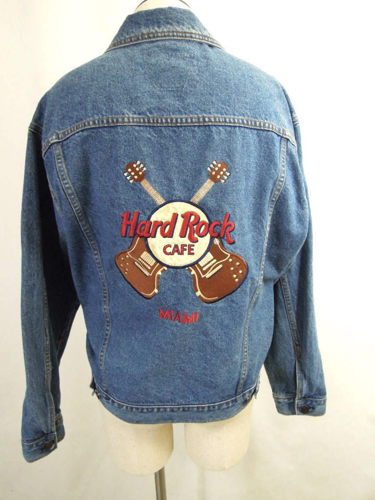 Rock back patches for jackets