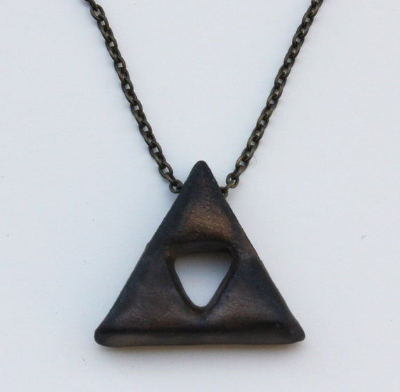 Triforce Ceramic Pendant