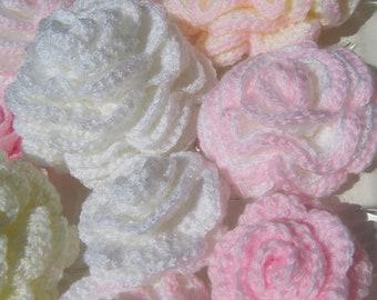 Crochet Rose PATTERN, Beautiful Rose Easy Pattern, Unique Crochet 3d Flowers, DIY Gift Instant Download PDF Pattern No.46 by Lyubava Crochet