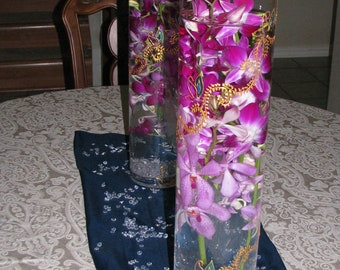 Sudha Cylinder Vases with Design