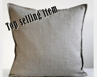 Linen pillow cover -  decorative pillow - throw pillow - cushion cover   0040