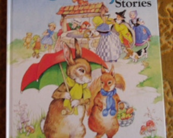 Vintage Childrens Book - My Best Book of Enid Blyton Stories - Award Publications London 1981