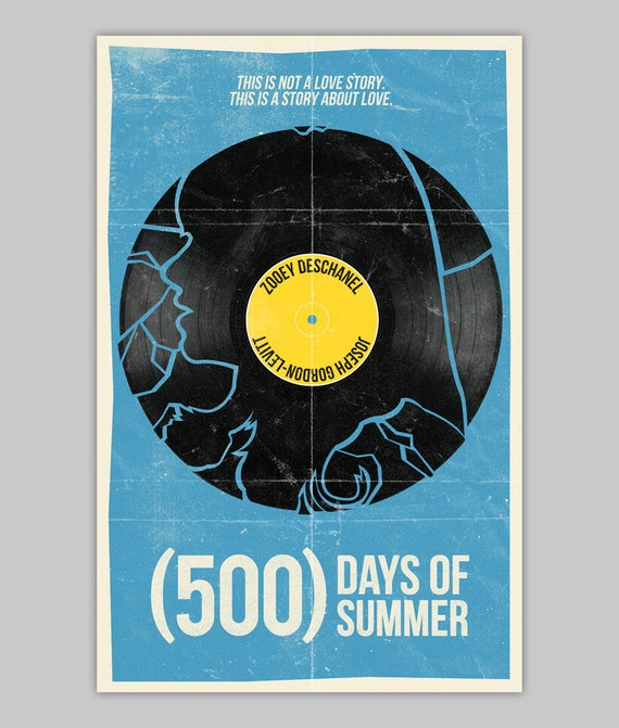 500 Days Of Summer poster