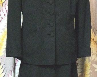 1950's Ladies wool suit 12
