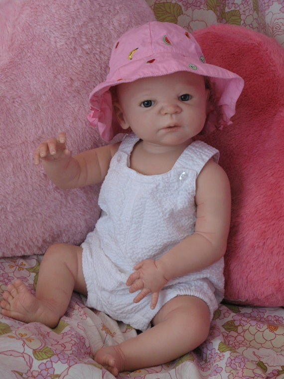 Reborn Baby Girl Victoria Sculpt By Sheila Michaels Ldc Soft