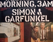 SIMON and GARFUNKEL Wednesday Morning 3am 1964 Uk Issue Vinyl 33 Lp Album Record Rock Pop Folk 1960s 63370 Free S&h