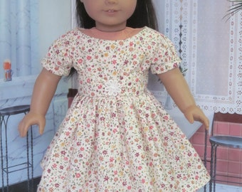 Flower Dress for American Girl Dolls