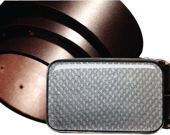 Silver Viper Interchangeable Magnetic Belt Buckle