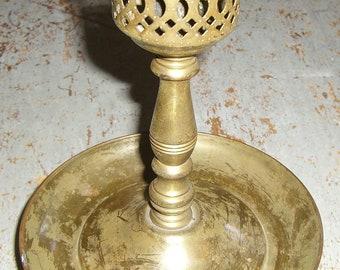 Vintage Candle Holder, Brass, Candlestick