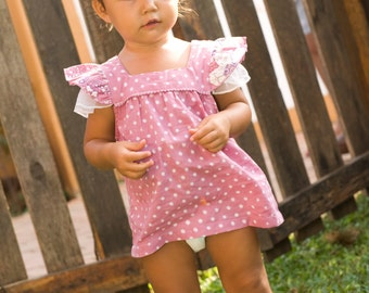 Toddler Tank Top,Girl shirt,Pink toddler shirt,Fairy top,Girl Ruffles Shirt