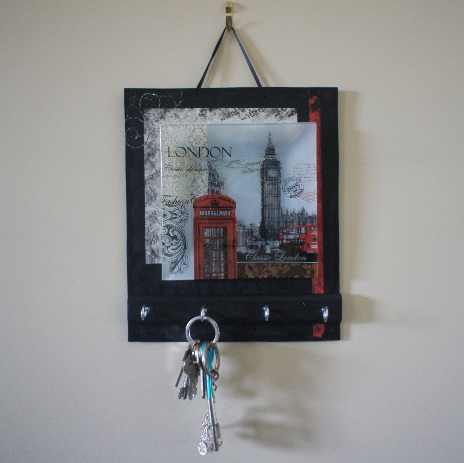 Key holders key rack key hook key hanger all in by nchantedgifts - Key racks for wall ...