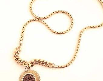 Statement necklace, boho necklace, Native American necklace, long necklace, tribal necklace, Unique necklace, boho long necklace, Women gift
