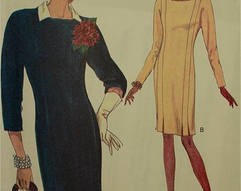 """Vogue Dress  Pattern 8415  from 1990s Uncut  Sizes 8-10-12  Bust 31.5-32.5-34"""""""