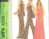 McCalls Dress/Lounging Pajamas Pattern 4256 Vintage UNCUT  size 14 FREE SHIPPING