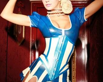Alice Latex Suspender Belt