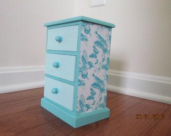 Light Blue Jewelry Box