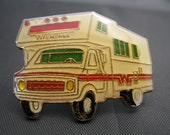 Vintage Winnebago Lapel Pin - RV - Recreational Vehicle