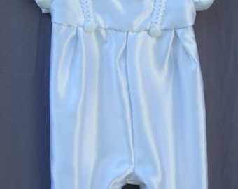 Christening/baptism/blessing boys outfit with suspenders