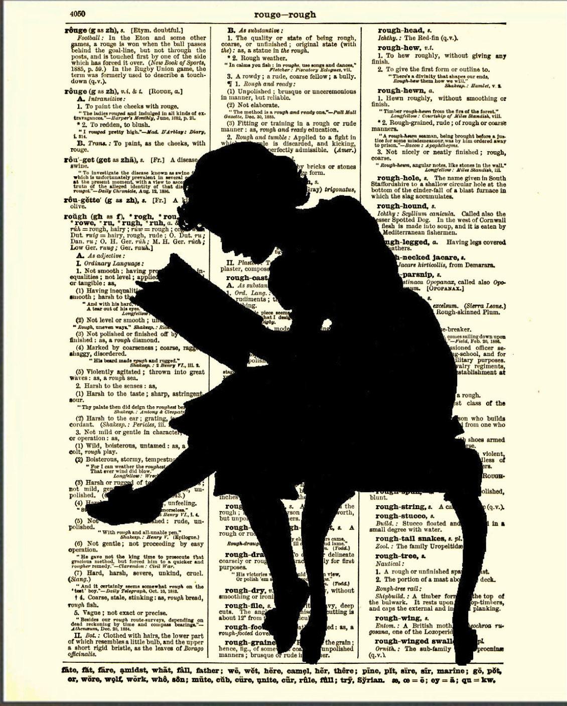 Resultado de imagem para reading dictionary