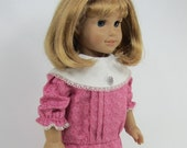 18 Inch Doll Clothes for American Girl Dolls - A School Dress for Samantha, Nellie, or Rebecca