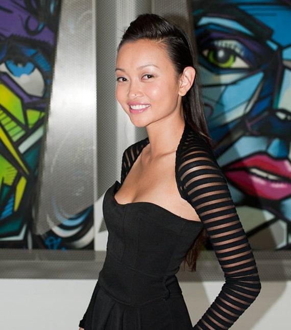 SHRUGGYSLIM Sexy Bolero. Arms look skinny. Change the look of any outfit in your closet in seconds