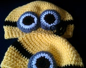 Crochet Despicable me Minion hat