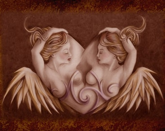 Love of Angels - card