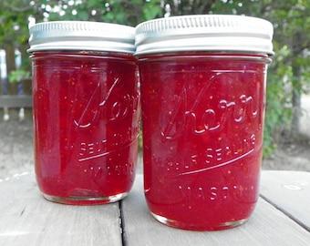 Strawberry Jam, 8oz jar, homemade