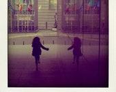 Her Reflection - Polaroid Fridge Magnet