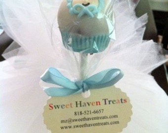 Boy Baby Shower Cake Pops
