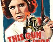 Fett Noir Series 1: This Gun For Hire 12x18