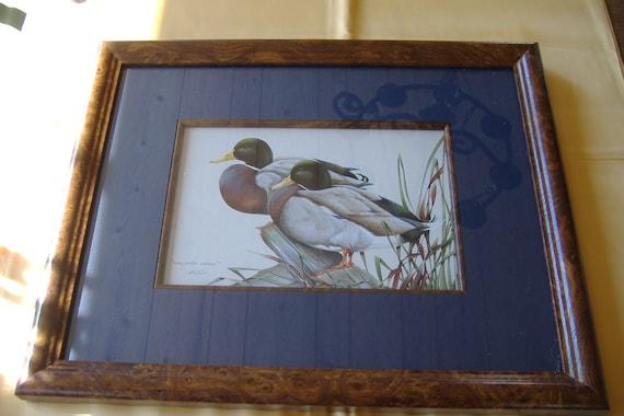 Duck Print By Art Lamay By Bearupatree On Etsy