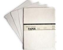 "25 Shts Deckled/Cream 8.5"" x 11"" Printable Natural Paper (Deckled Edge) (Cream)"