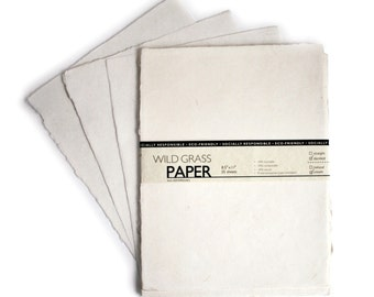 "25 Shts Deckled/Cream 8.5"" x 11"" Printable Natural Paper (Deckled Edge) (Cream)"