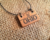 Buckeye Unisex Yardstick Necklace